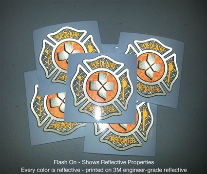 Wildland Firefighter Maltese Cross