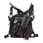 Radio Chest Harness - DR-1 Commander dual radio chest harness