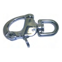 Snap Shackle Swivel Eye - Stainless Steel