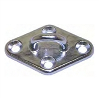 Pad Eye Diamond - Stainless Steel