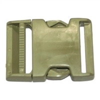 Side Release 50mm Army Khaki by Fastex - 1 per pack