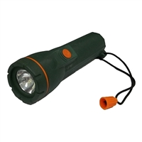 Flashlilght/Torch Rubber Waterproof 2C Cell
