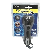 XTime Krypton Diver Torch 2AA Waterproof