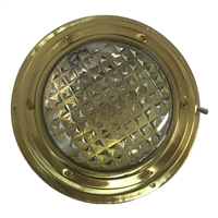 Domelight Brass - 110mm Lens