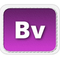 Adobe Captivate Template in a Violet Banner Theme