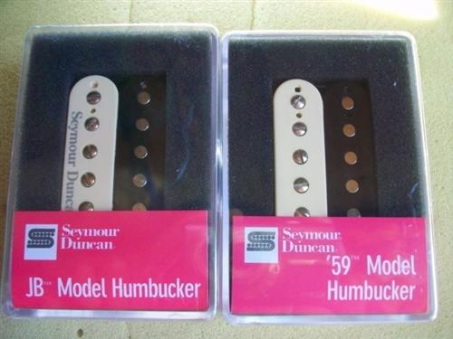 SMOKEY B\'S SEYMOUR DUNCAN HUMBUCKER PICKUP SET SH-4 JB SH-1N 59 ZEBRA