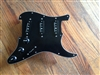 Pre Wired Noiseless Strat Pickguard Black Loaded Seymour Duncan Classic Stack STK-s4 Set