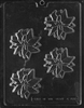 Poinsettia Flower Chocolate Mold