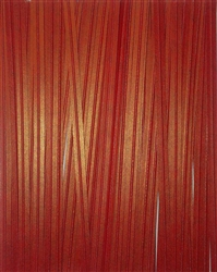 "4"" Red Paper Twist Ties - 100 Pack"