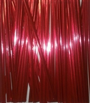 "4"" Red Metallic Twist Ties - 100 PACK"