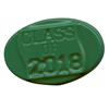 Class of 2018 Oval Chocolate Mold 90-13528 graduation