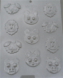 "1-3/4"" Animal Assortment Mold"