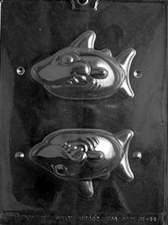 3D Shark Chocolate Mold Nautical Animal
