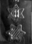 Star of David Pour Box Mold
