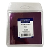 "Purple 4"" x 4"" Foil Wrapper - 125 Count"