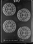 Dartboard Chocolate Mold