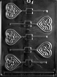Flower Heart Lolly Mold