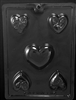Heart Bar Assortment Chocolate Mold