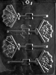 Fan Lolly Chocolate Mold