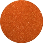 Orange Sanding Sugar - 16 Ounce Bag