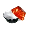 1/2 Ounce Black & Orange Foil Candy Cups