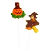 Witch and Pumpkin Pops Chocolate Mold