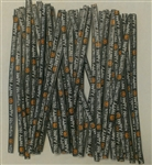 "4"" Halloween Paper Twist Ties - 50 Pack"