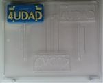 4 U Dad License Plate Sucker Chocolate Mold