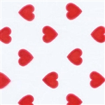 Large Red Hearts Cello Bag Candy Wrappers