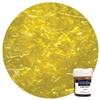 Yellow Edible Glitter Flakes .25 Ounce
