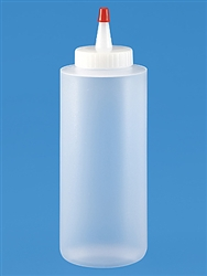 12 Ounce Plastic Squeezable Bottle for Candy Making