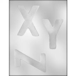 "4"" Letters X-Y-Z Mold"