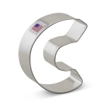 "3"" Letter C Cookie Cutter"