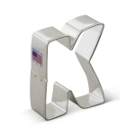 "3"" Letter ""K"" Cookie Cutter"