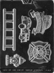 Firefighter Kit Chocolate Mold