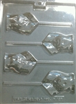 Female Frontal Pelvis Lollipop Chocolate Mold