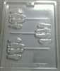Footsie Lollipop Chocolate Mold