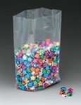 "4"" x 2"" x 8"" Gusseted Poly Bags - 25 Pack"