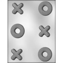 "2"" X's and O's Chocolate Mold"