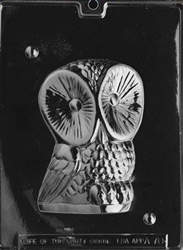 3D Owl Mold - Front
