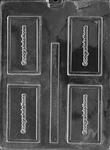Congratulations Card Chocolate Mold
