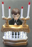 Boy Praying at Altar Cake Topper