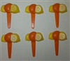 Lemon & Orange Cupcake Picks
