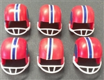 Football Helmet Cake Toppers