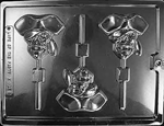 Pirate Skull Lolly Mold