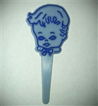 Baby Boy Blue Cupcake Picks