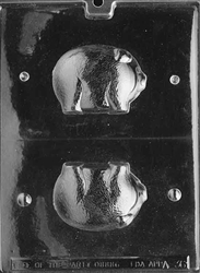 3D Pig Chocolate Mold - LPA036