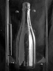 3D Jumbo Champagne Bottle - Side A