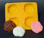 "1-1/2"" Rose Flexible Mold"