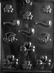 St. Patrick Assortment Chocolate Mold